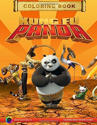 Kung Fu Panda Coloring Book