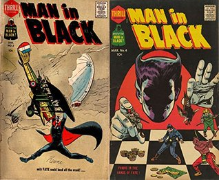 Man in Black. Issues 3 and 4. Pawns in the hand of fate. Only fate could head off the crash. Golden Age Digital Comics Action and Adventure.