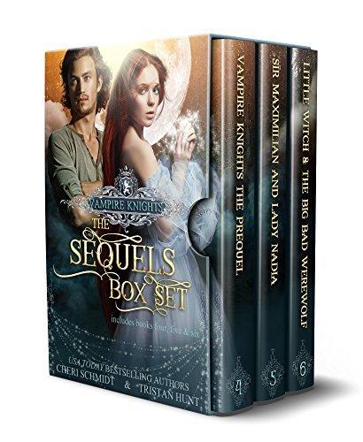 Vampire Knights: The Sequels Box Set (Books 4, 5, & 6)