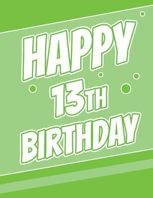 Happy 13th Birthday Discreet Internet Website Password Notebook Gifts For 13 Year Old Boys Or