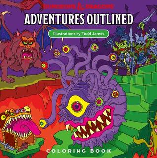 The cover of Todd James's Dungeons & Dragons Adventures Outlined
