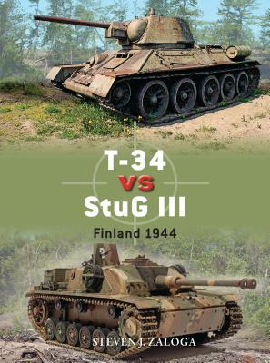 T-34 Vs StuG III: Finland 1944