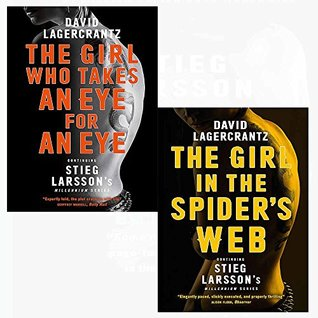 The Girl in the Spider's Web / The Girl Who Takes an Eye for an Eye