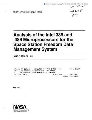 Analysis of the Intel 386 and I486 Microprocessors for the Space Station Freedom Data Management System