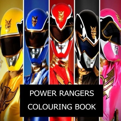 Power Rangers Colouring Book !: The best Power Rangers colouring book of 2017 !