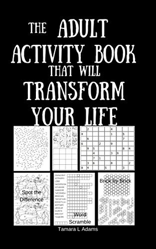 The Adult Activity Book That Will Transform Your Life