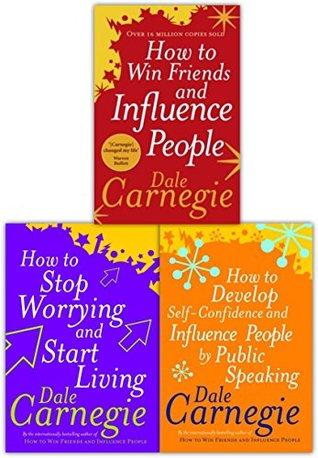 Dale Carnegie Personal Development Collection 3 Books Set