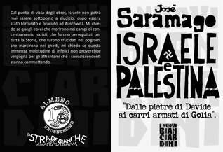 """Israele e Palestina: """"Dalle pietre di Davide ai carri armati di Golia"""""""