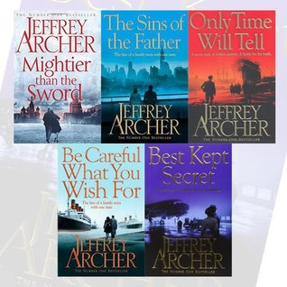 Jeffrey Archer The Clifton Chronicles 5 Books Bundle Collection