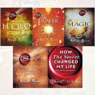 Rhonda Byrne Secret Series 5 Books Collection Set -
