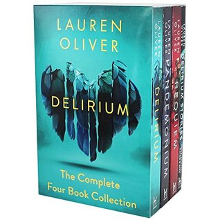 Lauren Oliver Delirium Collection 4 Books Box Set