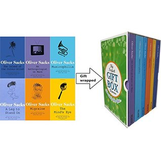 Oliver Sacks Collection 6 Books Bundle Gift Wrapped Slipcase Specially For You