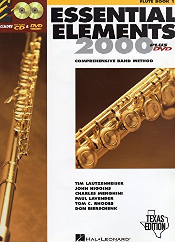 Essential Elements 2000: Comprehensive Band Method (Flute Book 1) Texas Edition