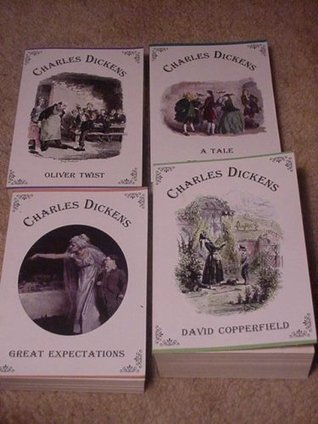 The Works of Charles Dickens (A Tale of Two Cities, David Copperfield, Great Expectations and Oliver Twist