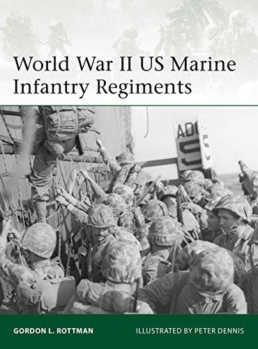 World War II US Marine Infantry Regiments (Elite Book 222)
