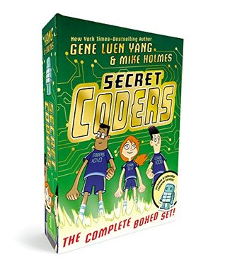 Secret Coders: The Complete Boxed Set: (Secret Coders, Paths Portals, Secrets Sequences, Robots Repeats, Potions Parameters, Monsters Modules)