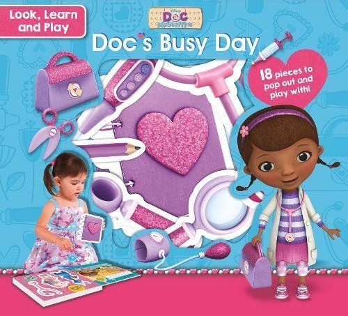 Disney Junior Doc McStuffins Look, Learn and Play Doc's Busy Day