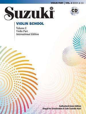 Suzuki Violin School (Asian Edition), Vol 2: Violin Part, Book & CD