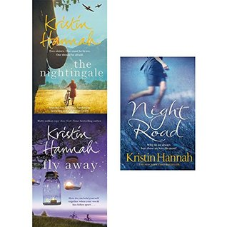 Kristin Hannah Set, Nightingale, Fly Away, Night Road Collection, 3 Books