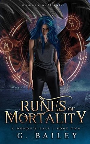Runes of Mortality: A Reverse Harem Urban Fantasy (A Demon's Fall series)