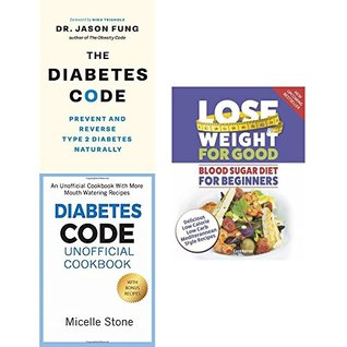 Diabetes code unofficial cookbook and blood sugar diet 3 books collection set