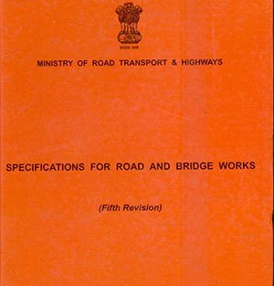 Specifications for Road and Bridge Works