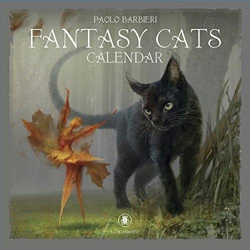 Barbieri Fantasy Cats Calendar 2019