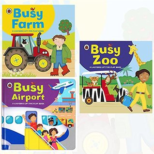 Ladybird Lift The Flap Book Collection 3 Books Bundle with Gift Journal