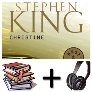 Christine Audiobook PACK in French [Book + 2 CD MP3]