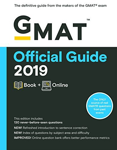GMAT Official Guide 2019 Book + Online