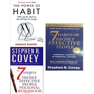 The Power of Habit, The 7 Habits of Highly Effective People, The 7 Habits of Highly Effective People Personal Workbook