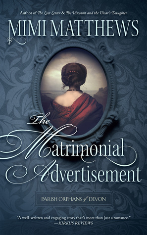The Matrimonial Advertisement by Mimi Matthews