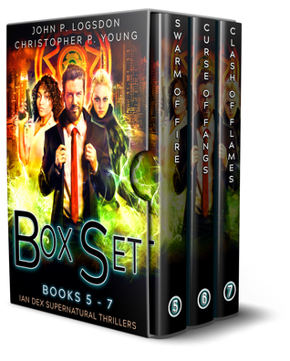 The Ian Dex Supernatural Thriller Box Set Two (Las Vegas Paranormal Police Department #5-7)