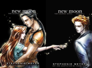 New Moon- The Graphic Novel (2 Book Series) (Twilight: The Graphic Novel, 3 & 4)