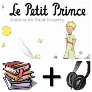 Le petit prince Audiobook PACK [Book + 2 CD's]