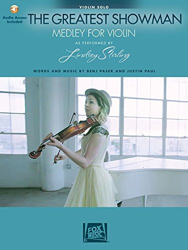 The Greatest Showman: Medley for Violin: Arranged by Lindsey Stirling Bk/Online Audio