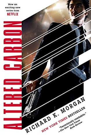 book cover for Altered Carbon