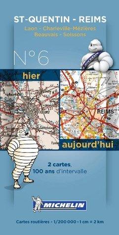 Saint Quentin - Reims Centernary Maps - Pack 006