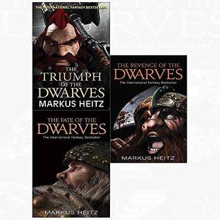 Dwarves markus heitz triumph, fate, revenge 3 books collection set