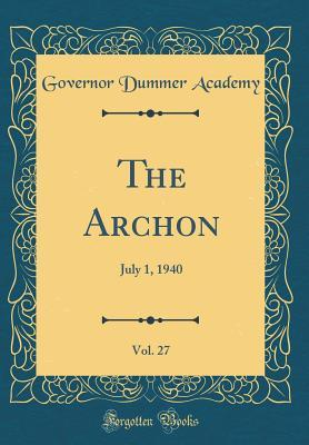 The Archon, Vol. 27: July 1, 1940