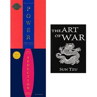 48 Laws of power, art of seduction and art of war 3 books collection set
