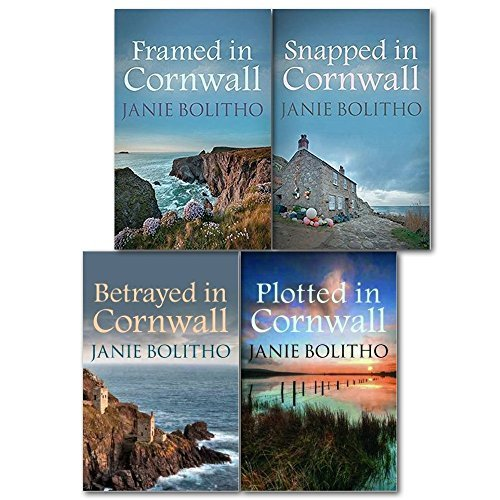 Janie Bolitho The Rose Trevelyan Series 4 Books Collection Set,