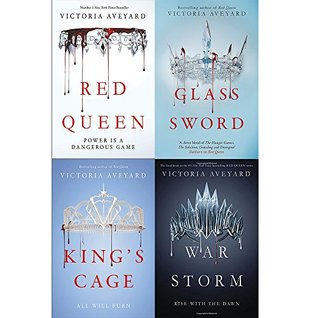 Red Queen 4-Book Collection: Books 1-4