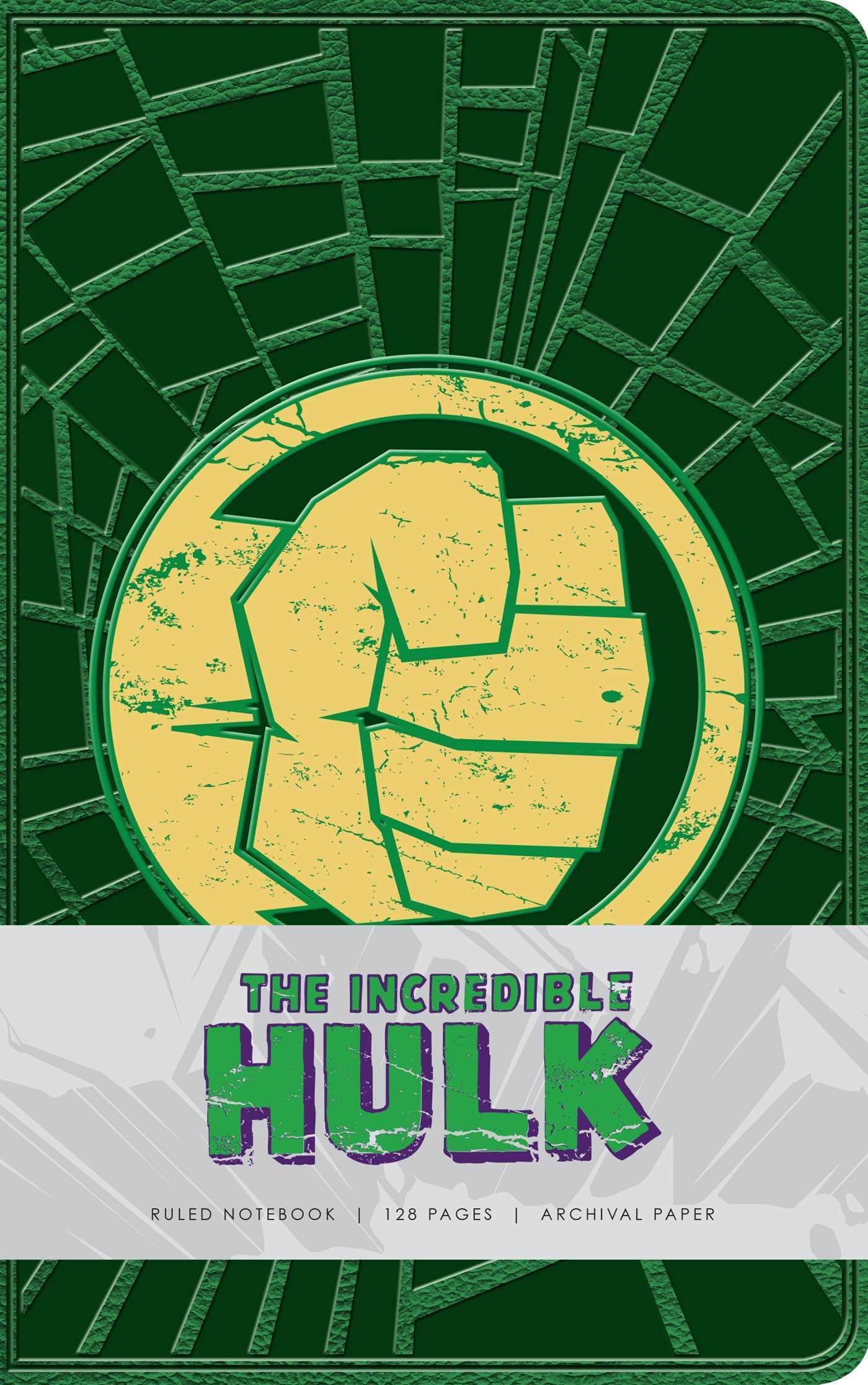 Marvel: Hulk Ruled Notebook