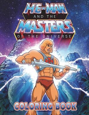 He-Man and the Masters of the Universe Coloring Book