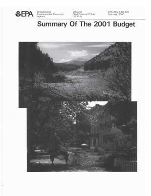 Summary of the 2001 Budget