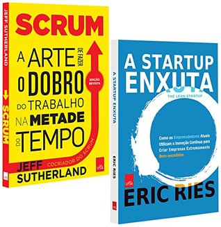 Scrum + A Startup Enxuta - Kit Exclusivo com 2 Volumes