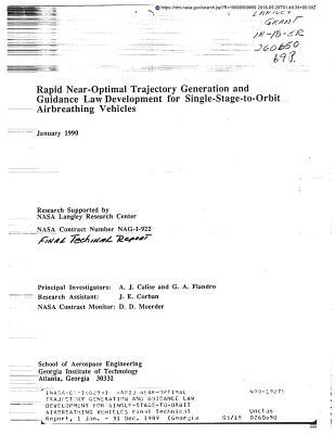 Rapid Near-Optimal Trajectory Generation and Guidance Law Development for Single-Stage-To-Orbit Airbreathing Vehicles