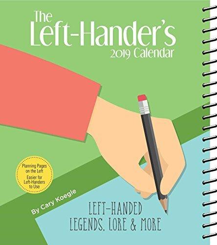 The Left-Hander's 2019 Weekly Planner Calendar