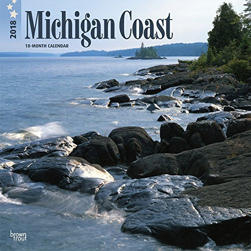2018 Michigan Coast Wall Calendar